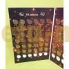 Набор 10 и 50 копеек 1997-2015 гг.. Современные копейки, 68 монет в альбоме