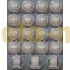 Набор из 19 монет 3 рубля 2014 г. Олимпиада в Сочи 2014, серебро 925 пр.