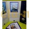 Набор официальных монет России 1996 г. 300 лет Российскому Флоту