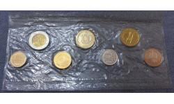 Годовой набор монет СССР 1992 года, ЛМД - №2