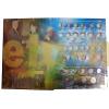 Набор из 2 альбомов-книг для монет РФ регулярного выпуска с 1997 г., погодовка