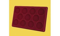 Планшет для 11 монет в капсулах диаметром 46 мм