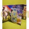 Альбом с набором монет 25 рублей и банкнотой 100 рублей ЧМ 2018