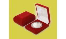 Футляр для одной монеты в капсуле диаметром 46 мм. (61х79х32 мм)