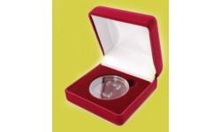 Футляр для одной монеты в капсуле диаметром 46 мм. (80х80х40 мм)