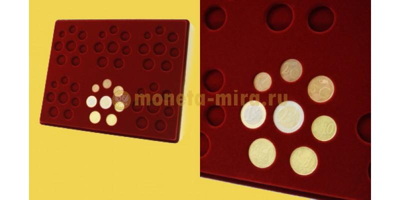 Планшет для наборов монет Евро