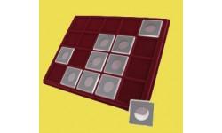 Планшет для 20 монет в капсулах Quadrum
