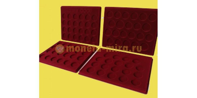 Набор из 4 планшетов для 64 монет СССР, 6 монет Barcelona-92 и 19 монет Новоделы