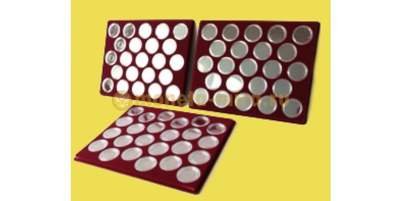 Набор из 3 планшетов для 64 юбилейных монет СССР и 6 монет Barcelona-92