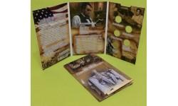 Капсульный альбом для 1 центовых монет США - 200-летие Авраама Линкольна