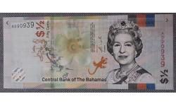 1/2 доллара Багамских Островов 2019 г.