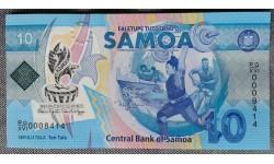 10 тала Самоа 2019 г. XVI тихоокеанские игры, полимер-пластик