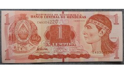 1 лемпира Гондураса 2012 г.