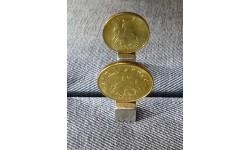 Монетный брак 50 копеек 2015 год - аверс/аверс