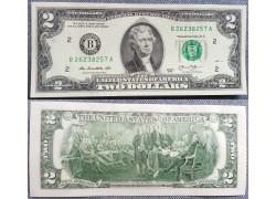 2 доллара США 2013 г.