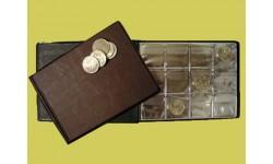 Монетник карманный на 72 монеты диаметром до 40 мм