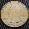 Набор 25-центовых монет Штаты и Территории США - 56 шт.