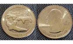 25 центов США 2017 г. Национальный парк Курганы-Чучела, №36 двор D
