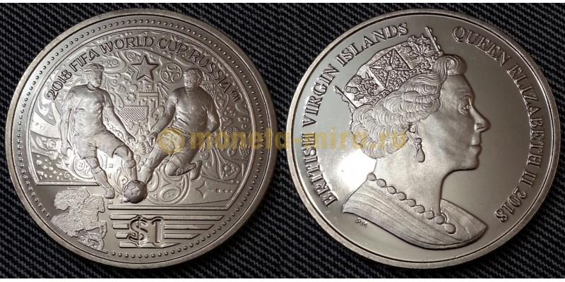 1 доллар 2018 г. Виргинские острова - Чемпионат Мира в России 2018
