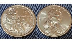 1 доллар США 2018 г. Джим Торп, серия Сакагавея, двор D