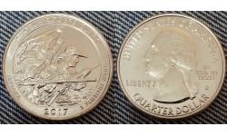 25 центов США 2017 г. Национальный парк им. Роджерса Кларка, №40 двор D