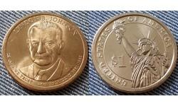 1 доллар США 2015 г. Линдон Джонсон, 36 президент