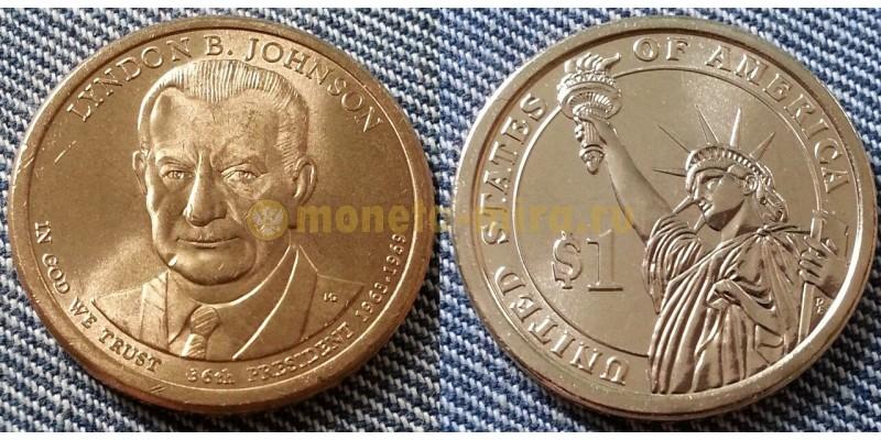 1 доллар США серия: Президенты - Линдон Джонсон