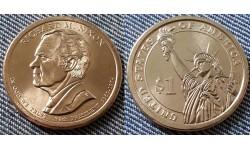 1 доллар США 2016 г. Ричард Никсон, 37 президент
