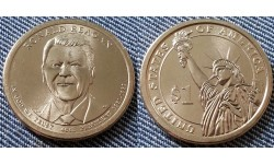 1 доллар США 2015 г. Рональд Рейган, 40 президент