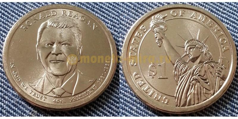 1 доллар США серия: Президенты - Рональд Рейган