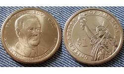 1 доллар США 2014 г. Франклин Рузвельт, 32 президент