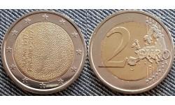 2 евро Финляндия 2017 - 100-летие независимости