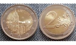 2 евро Литва 2017 - Вильнюс, город культуры и искусства