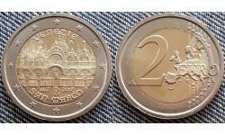 2 евро Италии 2017 г. Собор Сан-Марко в Венеции