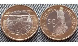 5 евро Финляндии 2018 г. Национальный парк Коли