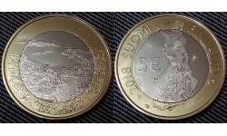5 евро Финляндии 2018 г. Ландшафты Хельсинки
