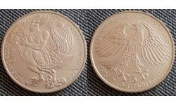5 марок ФРГ 1976 г. Ганс Гриммельсгаузен - серебро 625 пр.