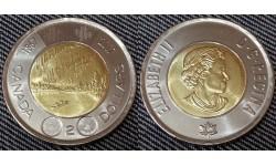 2 доллара Канады 2017 г. 150 лет Конфедерации