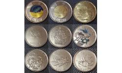 Набор из 9 монет 2017 г. 150 лет со дня основания Канадской конфедерации